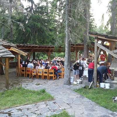 Elina Hotel - Pamporovo / Outside Barbecue
